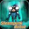 Steampunk-Robot New Addon MCPE icon