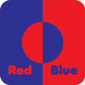 Red Blue - Casual Game icon