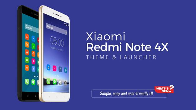 Theme for Xiaomi Redmi Note 4X 1 0 (Android) - Download APK