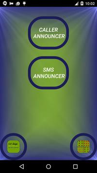 Announcer - Call and SMS poster