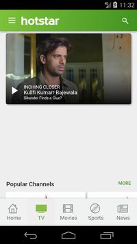 Hotstar TV - Watch Hotstar Asia Cup 2018 screenshot 1