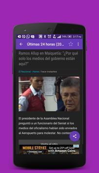 Noticias Venezuela screenshot 1