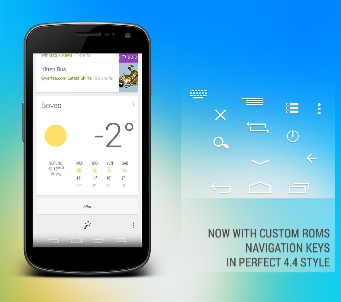 Kitkat 4 4 CM10 Theme for Android - APK Download