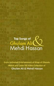 Ghulam Ali and Mehdi Hassan Ghazals poster