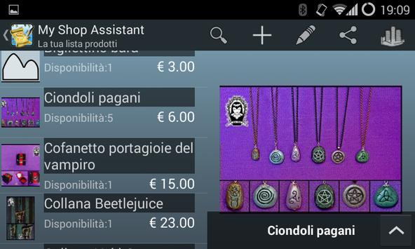 My Shop Assistant screenshot 2