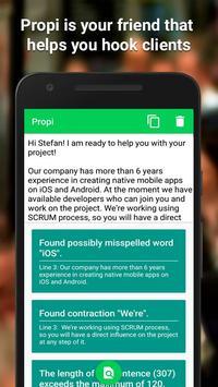 Propi - Freelance Proposals that Hook Clients apk screenshot