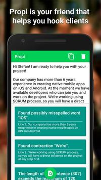 Propi - Freelance Proposals that Hook Clients screenshot 5