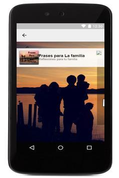 Frases para la Familia gratis apk screenshot