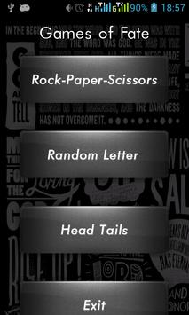 Head Tails Rock-Paper-Scissors poster