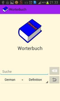 Germany Dictionary|Wörterbuch apk screenshot