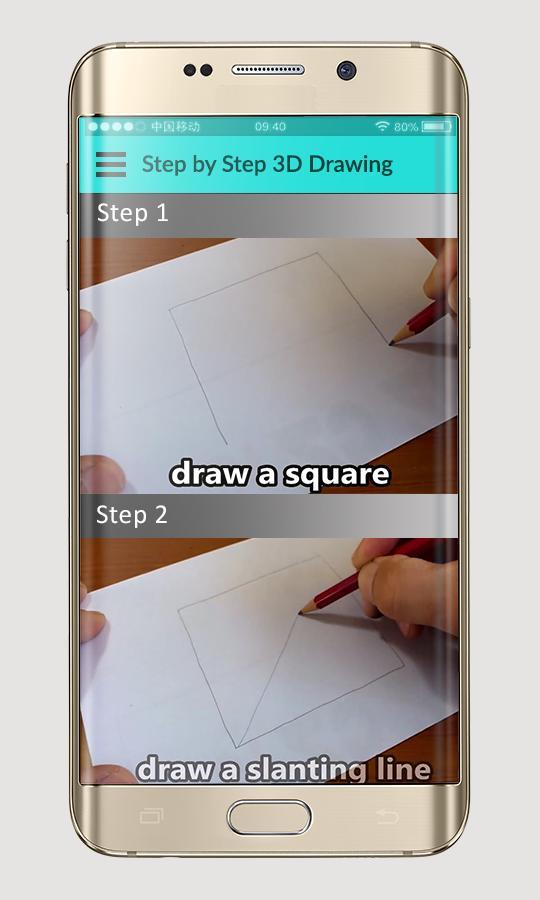 Desenho 3d Passo A Passo Para Android Apk Baixar