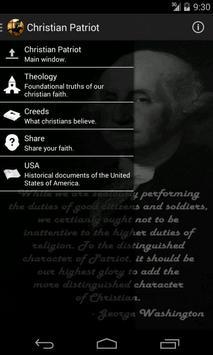Christian Patriot poster