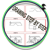 step by step drawing for kids icon