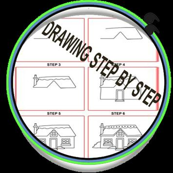 step by step drawing for kids poster