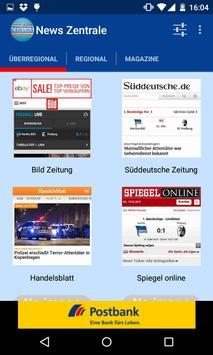 News Zentrale - Nachrichten poster