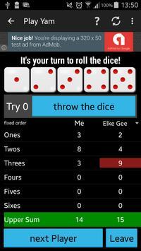 Play Yam Dice Game screenshot 4