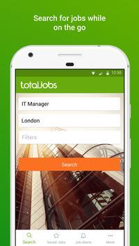 Totaljobs - UK Job Search app poster