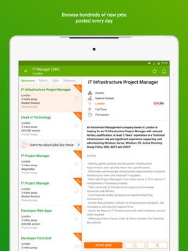 Totaljobs - Search for the top UK jobs online apk screenshot