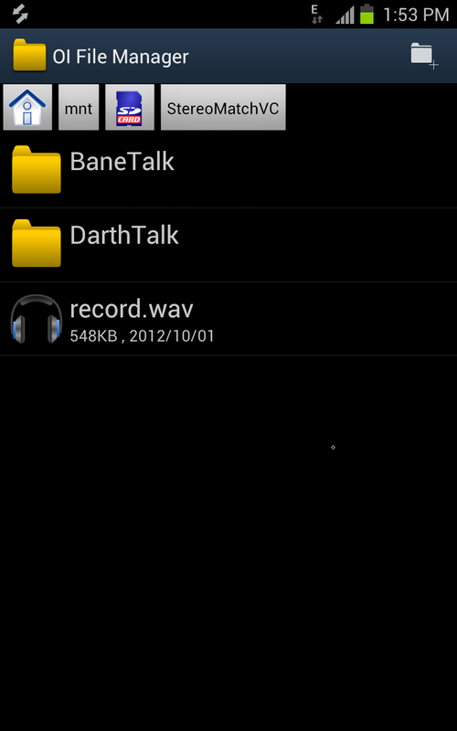 darth vader voice changer app android