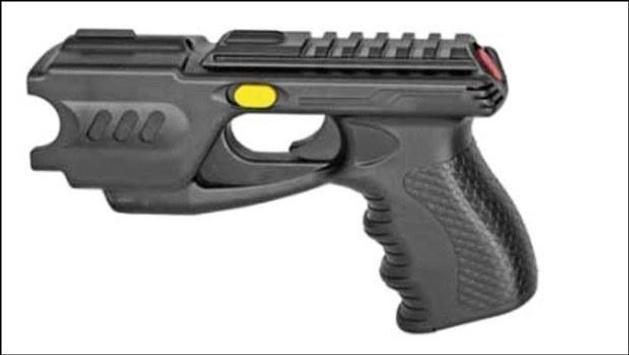 Elektro shock Gun poster