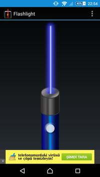 laser flashlight poster