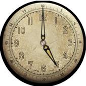 Antique clock icon