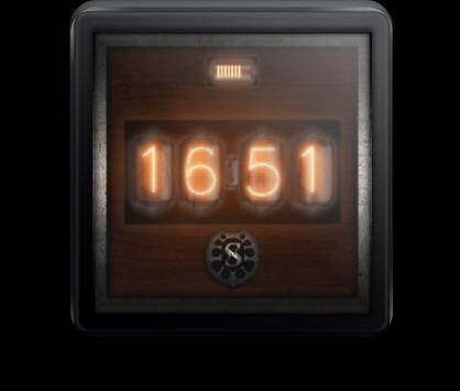 Antique clock apk screenshot