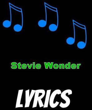Stevie Wonder Lyrics poster