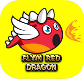Flying Red Dragon icon