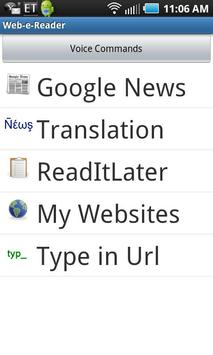 Web Reader & Translator poster