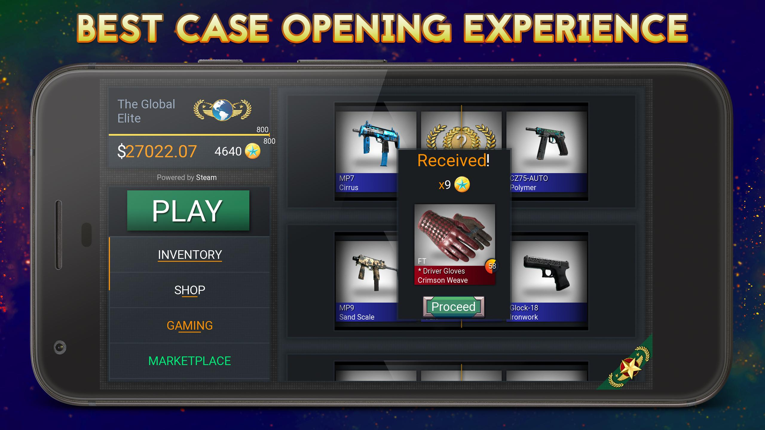 Case Simulator Hero for CS:GO for Android - APK Download