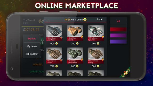 case simulator hero for cs go apk download free simulation game