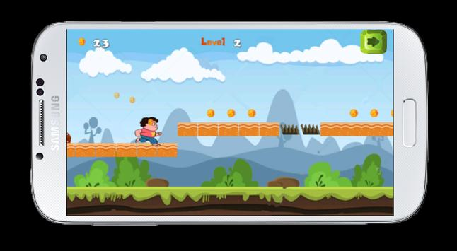 Steven World Jungle Run Dash apk screenshot