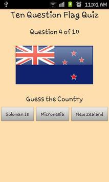 World Flag Quiz poster