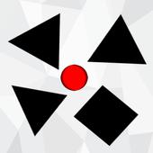 Shape Escape - Moving Dots icon