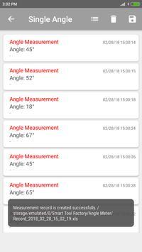 6 Schermata Angle Meter