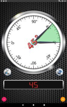 8 Schermata Angle Meter
