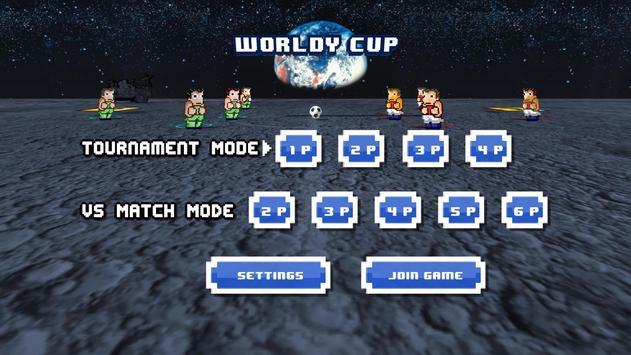 Worldy Cup -Super power soccer apk screenshot