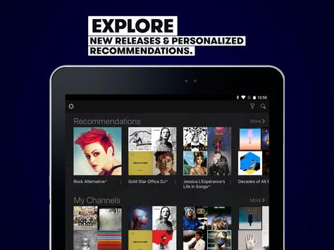 Stingray Music - Stream Unlimited Curated Channels apk screenshot