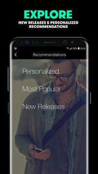 Stingray Music apk screenshot