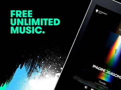 Stingray Music apk screenshot