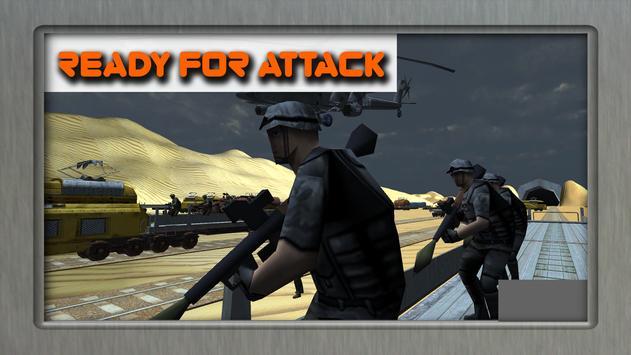 Euro Train Gunner Battle 2017 apk screenshot
