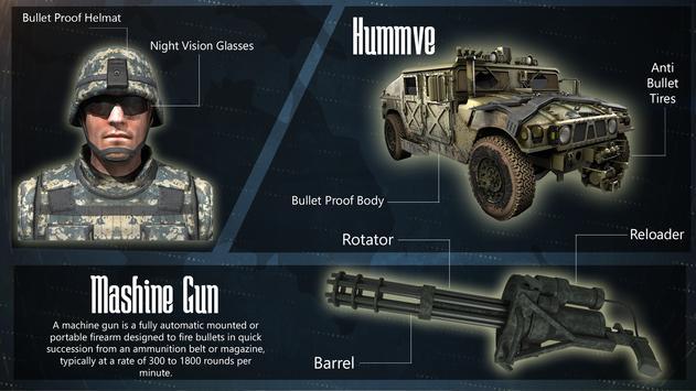 US Army Gunner Battle City War apk screenshot