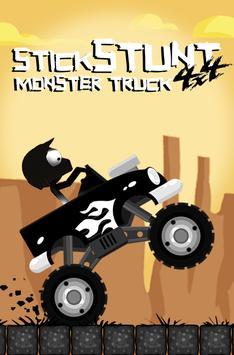 Stick Stunt 4x4 Monster Truck poster