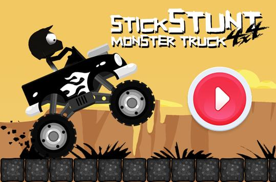 Stick Stunt 4x4 Monster Truck screenshot 1