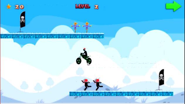 StickMan Santa Driver apk screenshot