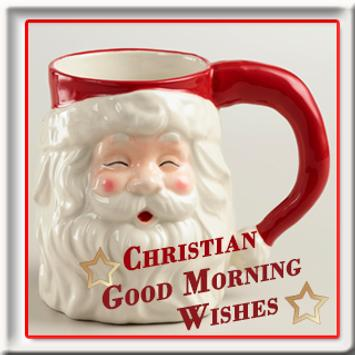 Christian Good Morning Wishes poster