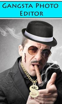 Gangsta Photo Editor poster