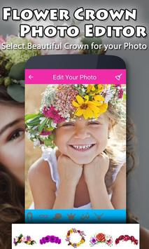 Flower Crown Photo Editor screenshot 3