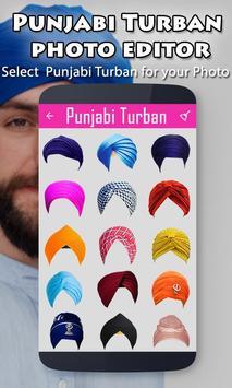 Punjabi Turban Photo Editor poster
